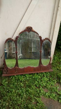 Antique Mirror $50 View on Craigslist