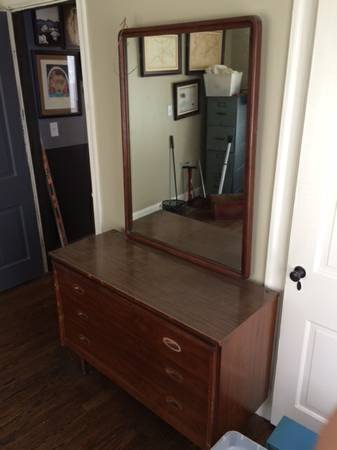Dresser with Mirror     $75     View on Craigslist