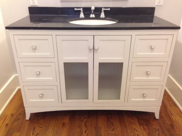 Bathroom Vanity     $250     View on Craigslist