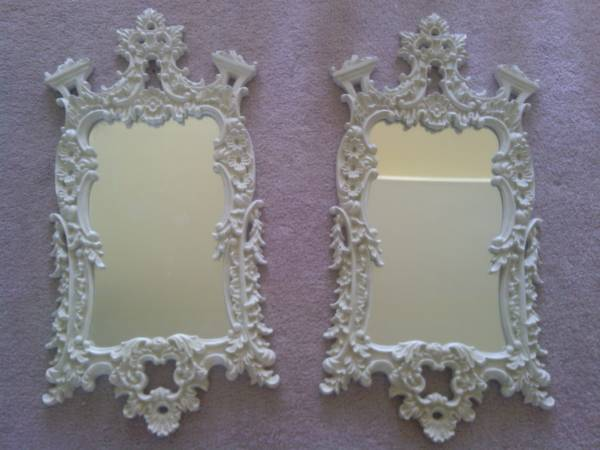 Pair of Ornate Mirrors     $50     View on Craigslist