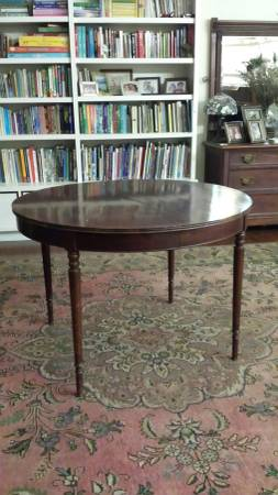Antique Table with Leaf     $125     View on Craigslist