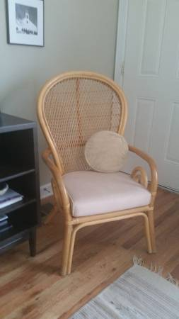 Rattan Chair     $40     View on Craigslist