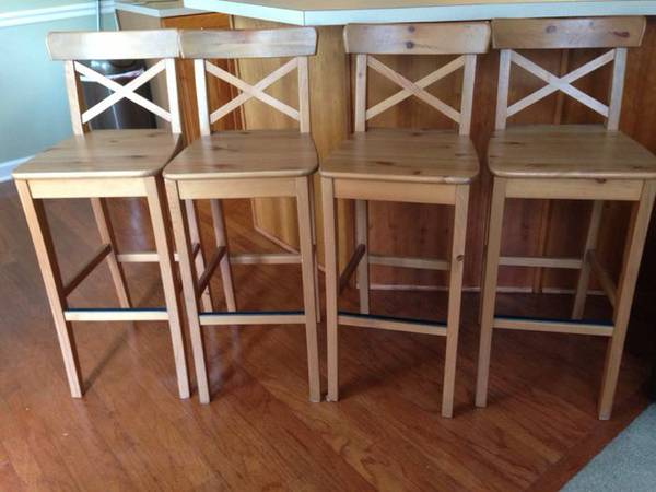 Set of Four Barstools $150 View on Craigslist