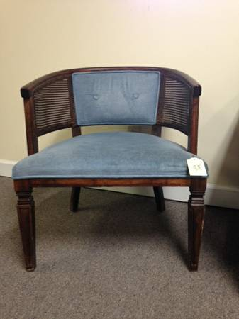 Vintage Cane Chair     $40   I love this style chair and they look fabulous when redone.    See on Pinterest      View on Craigslist