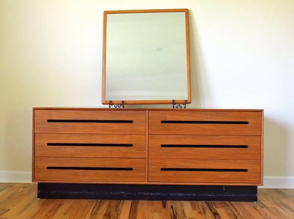 Teak Dresser     $65     View on Craigslist