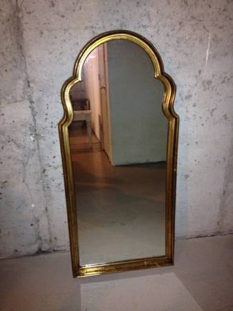 Gold Mirror     $50     View on Craigslist