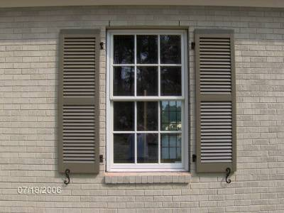 Exterior Shutters $200 This includes 13 sets of shutters. View on Craigslist