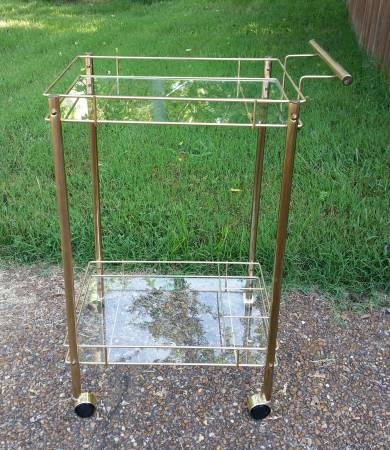 Brass Bar Cart     $95     View on Craigslist