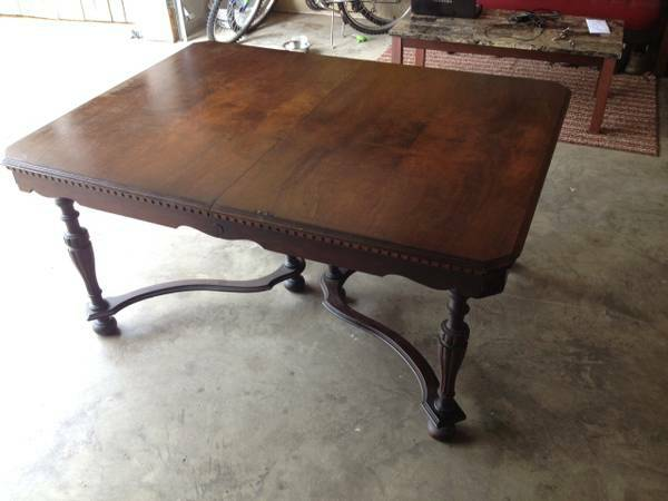 Wood Table     $100     View on Craigslist