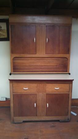 Antique Hoosier Cabinet     $300     View on Craigslist