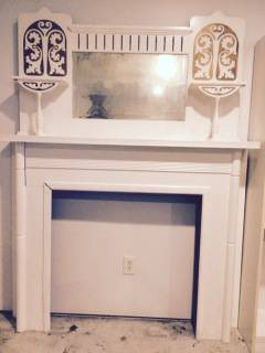 Antique Mantle $175 View on Craigslist
