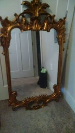 Antique Gold Mirror     $20     View on Craigslist