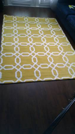 5' x 7' Rug     $50     View on Craigslist