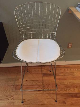 Pair of Modern Barstools     $200   Thesebarstools retailfor $124.99each.    View on Craigslist