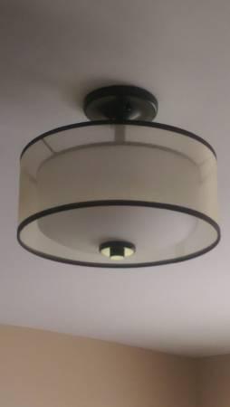 Like New Flush Mount Light     $45     View on Craigslist