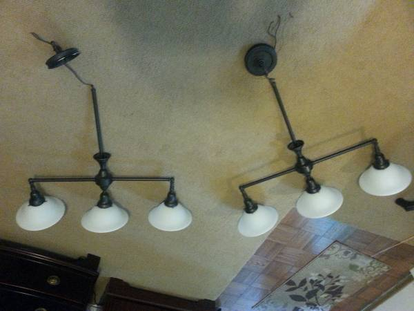 3 Light Island Fixture     $25 each     View on Craigslist