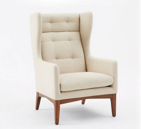 West Elm Chairs     $500 each   These chairs retail for $800 at West Elm.    View on Craigslist