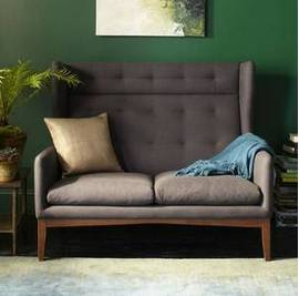 West Elm Settee     $600   This piece retails for $1099 at West Elm.    View on Craigslist