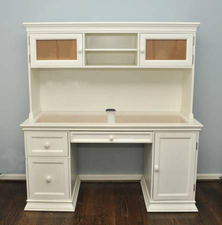 Pottery Barn Desk with Hutch     $325     View on Craigslist
