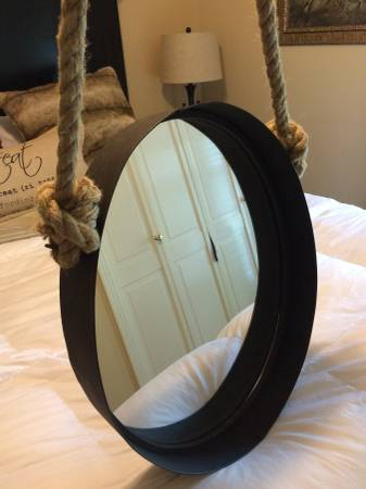 Oval Rope Mirror $45 View on Craigslist