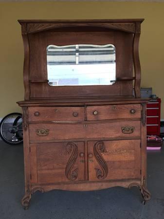 Antique Dresser $275 View on Craigslist