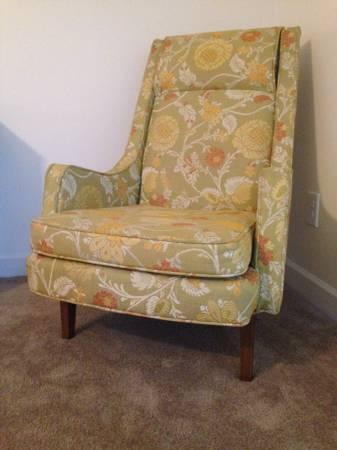 Mid Century Chair $100 View on Craigslist