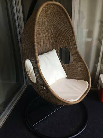 Wicker Egg Chair     $300     View on Craigslist