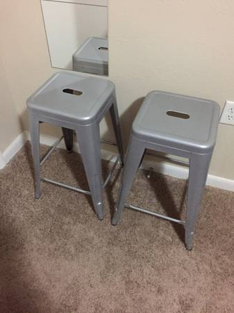 Pair of Stools $60 View on Craigslist