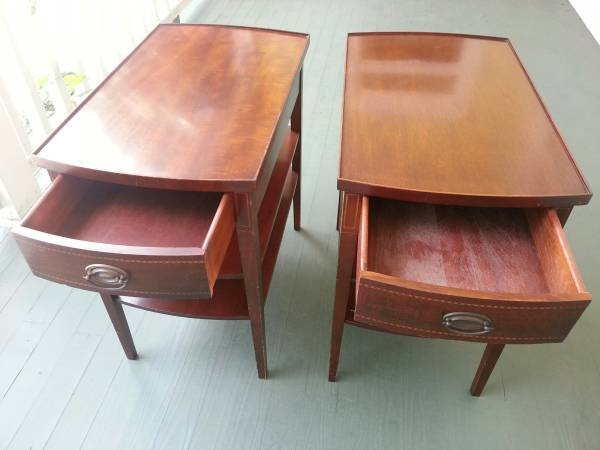 Pair of End Tables     $90     View on Craigslist