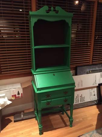 Green Secretary Desk $180 View on Craigslist