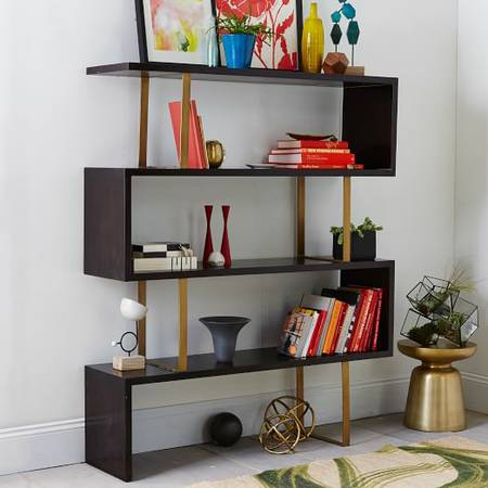 West Elm Bookcase     $600   There are 3 of these available and they retail for $1274 at West Elm.    View on Craigslist