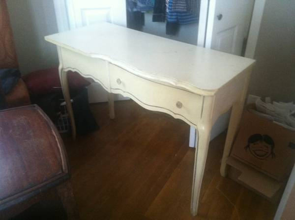 French Provincial Style Desk     $50     View on Craigslist