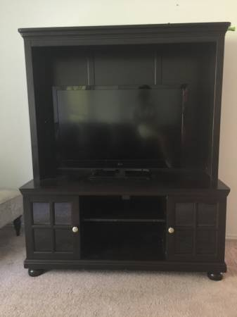Entertainment Center     $130     View on Craigslist