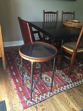Marble Side Table     $80     View on Craigslist