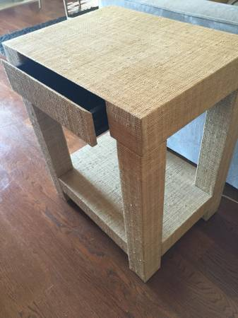 Pair of West Elm Side Tables     $75     View on Craigslist