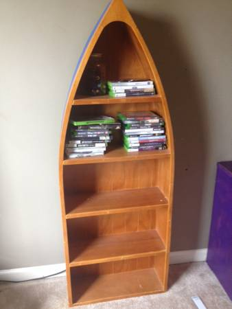 Boat Shelf     $20   This would be cute in a boy's room or for a lake house.    View on Craigslist