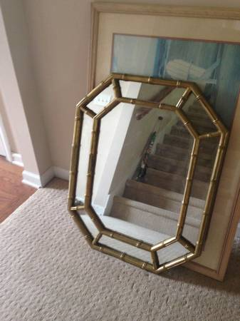 Faux Bamboo Mirror     $30     View on Craigslist