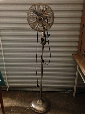 Restoration Hardware Fan     $75     View on Craigslist