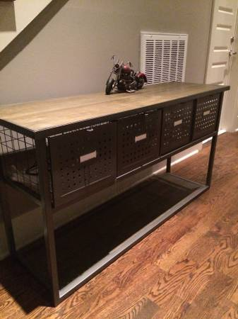 Industrial Buffet/Table     $75     View on Craigslist