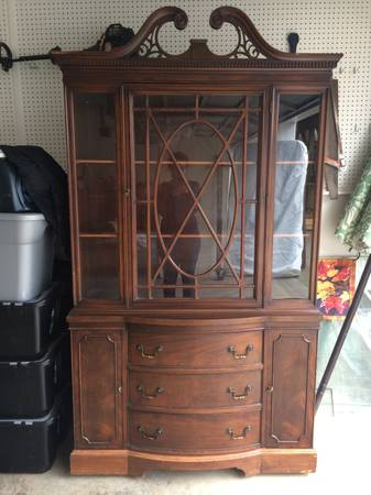 China Cabinet     $200     View on Craigslist
