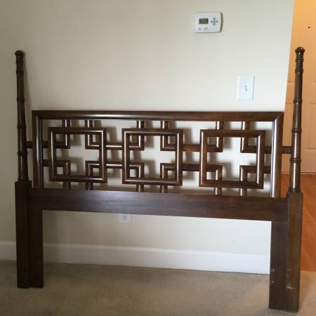Queen/Double Headboard $35 I love this headboard - use as is or paint it.  View on Craigslist