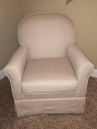 Neutral Nursery Glider     $200     View on Craigslist
