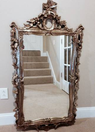 Ornate Gold Mirror     $65     View on Craigslist