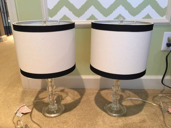 Pair of PB Teen Lamps     $50   These retail for $84 each.    View on Craigslist