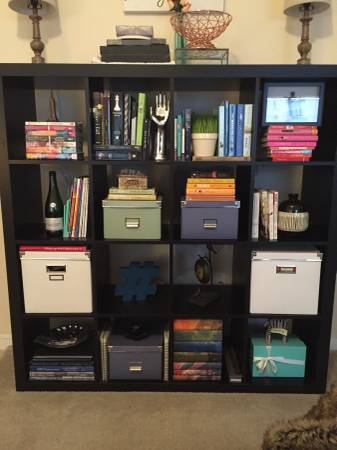 Black Ikea Expedit Shelf     $75     View on Craigslist