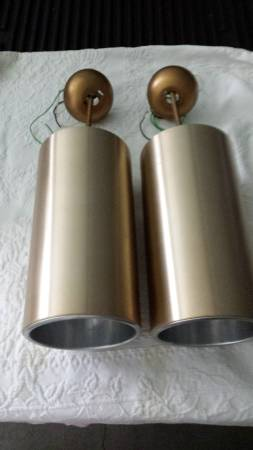 Pair of Mid Century Hanging Lights     $150     View on Craigslist