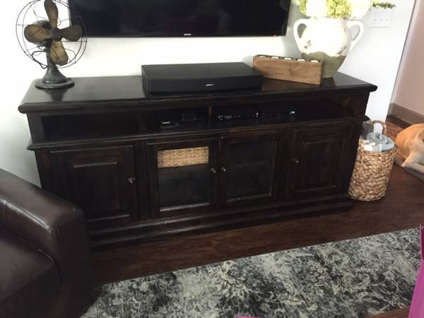 Restoration Hardware Media Cabinet     $500     View on Craigslist
