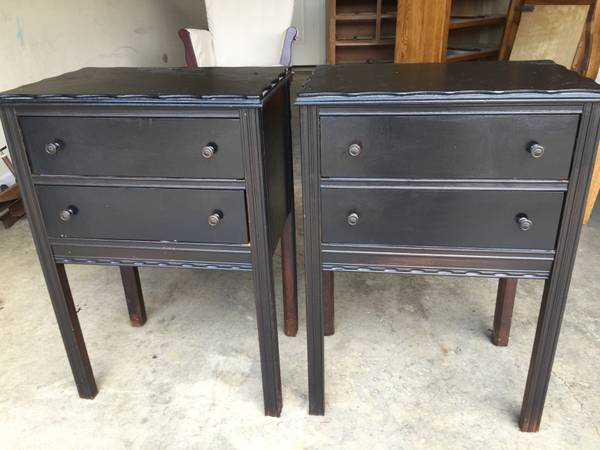 Pair of End Tables/Nightstands $45 View on Craigslist
