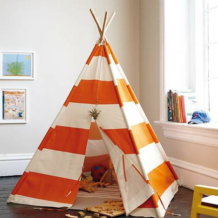 Striped Play TeePee $100 This teepee is like new and retailed for $160.  View on Craigslist