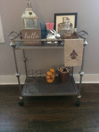 Bar Cart     $75   Seller paid $175 for this a year ago.     View on Craigslist